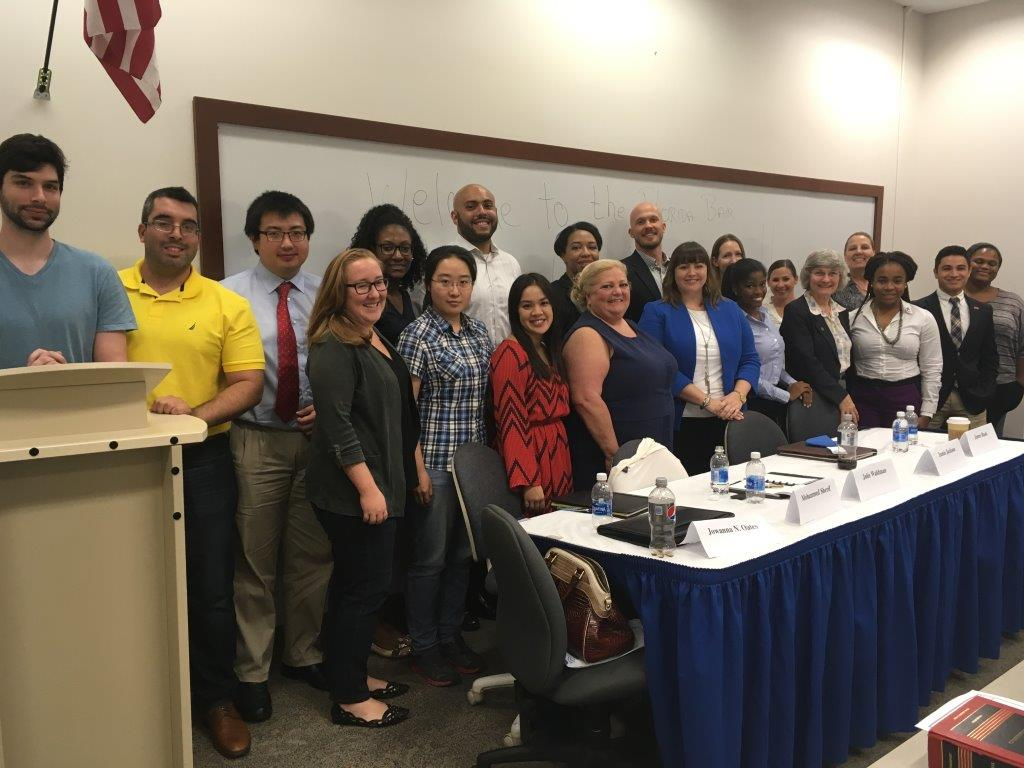 Admin Law Section's Law School Liaison Committee held a networking event at University of Florida's Fredric G. Levin College of Law